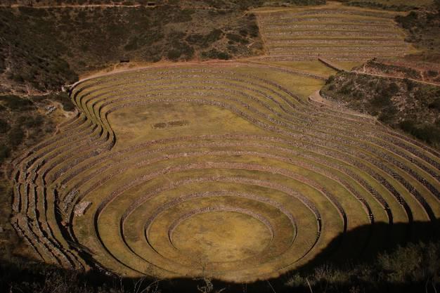 Moray diente den Inka möglicherweise als Agrarversuchsfeld. Bis vor 50 Jahren wurden auf dem Gelände Kartoffeln und Gerste angebaut.