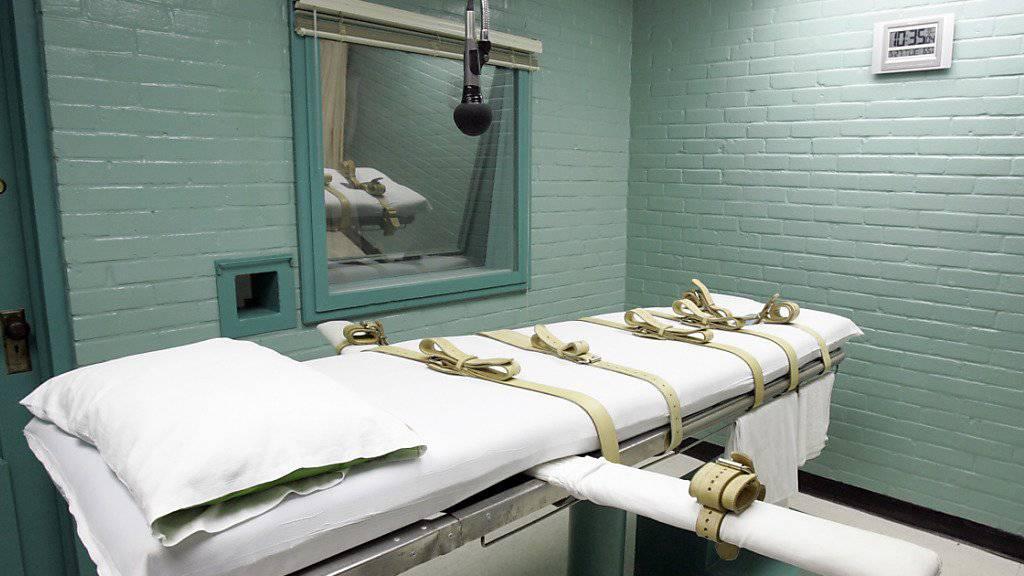Hinrichtung verschoben: Todeskandidat Jeffery Wood bleibt in Texas vorerst am Leben. (Symbolbild)