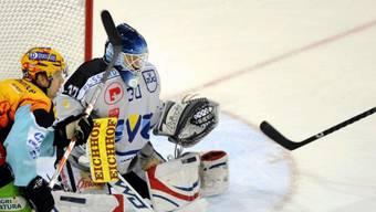 Der Zuger Goalie Jussi Markkanen hielt in Rapperswil seinen Kasten rein