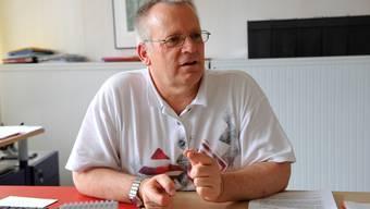 Andreas Hänggi (Schulkreis BeLoSe) will, dass Grenchen die Ferien neu regelt. Oliver Menge