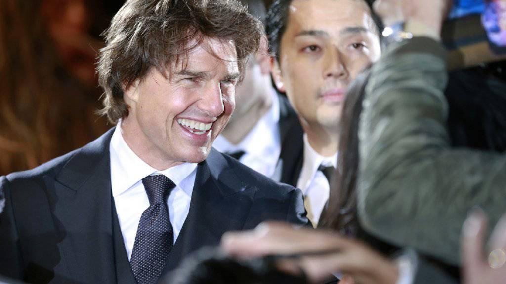 Tom Cruise hat den Actionfilm «Jack Reacher: Never Go Back» am Wochenende vom 10. bis 13. November an die Spitze der Deutschschweizer Kinocharts gespielt. (Archivbild)