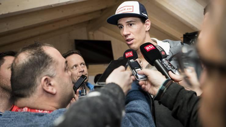 Gelingt Ramon Zenhäusern nach Olympia-Silber auch der WM-Medaillen-Coup?