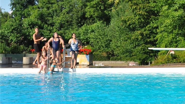 Das Freibad Fondli in Dietikon hat die Saison bereits beendet.
