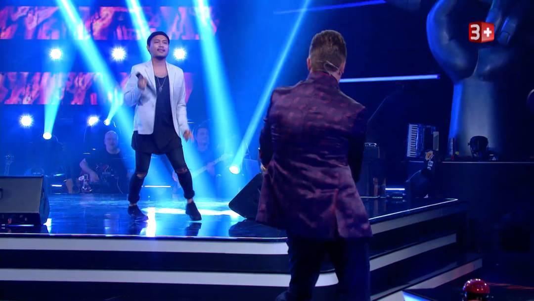 «The Voice of Switzerland»: Arnat Phanitram aus Neuenhof liefert sich mit DJ Antoine sogar einen Dance Battle