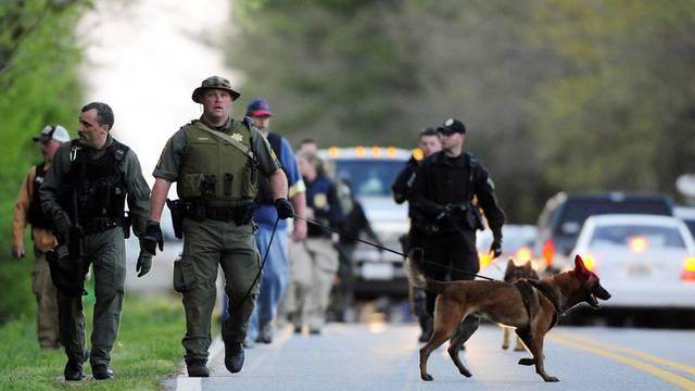 Grossaufgebot der Polizei nach der Geiselnahme im US-Bundesstaat Georgia