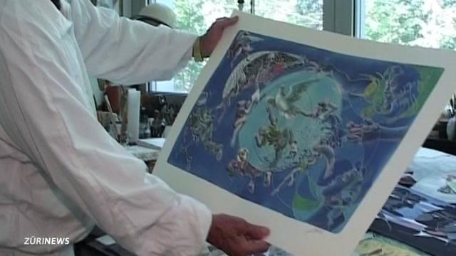Schweiz trauert um Künstler Hans Erni