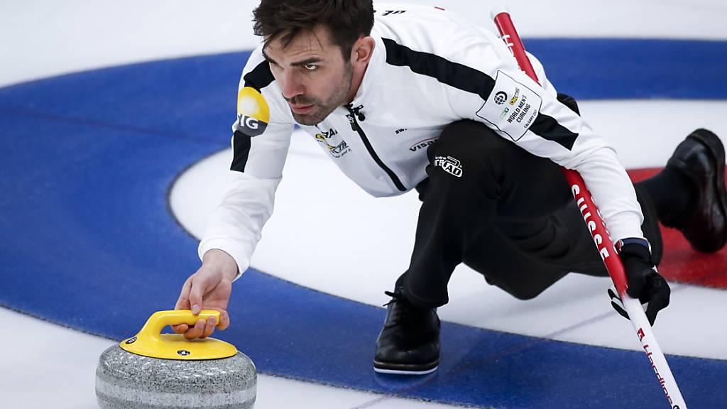 Nur noch kleine Hoffnungen für die Schweizer Curler