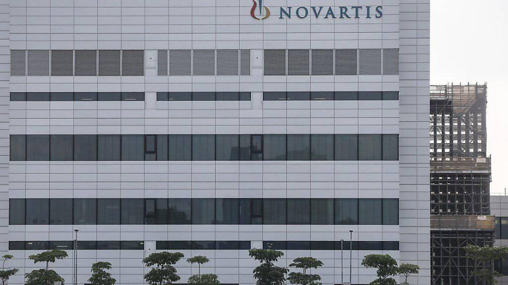 Novartis hat im dritten Quartal zugelegt: Der Umsatz stieg um 2 Prozent auf 12,4 Milliarden Dollar, der Gewinn um 7 Prozent auf 2,1 Milliarden Dollar. (Archiv)