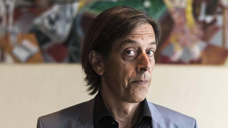 Der Autor Pedro Lenz hat seit Anfang Mai ein 30%-Pensum als Kulturredaktor bei den AZ Medien. (Archivbild)