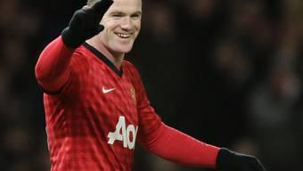 Standesgemässer Sieg für Manchester United dank Wayne Rooney