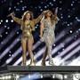 Shakira und Jennifer Lopez sind am diesjährigen Super-Bowl am Sonntag (Ortszeit) aufgetreten.