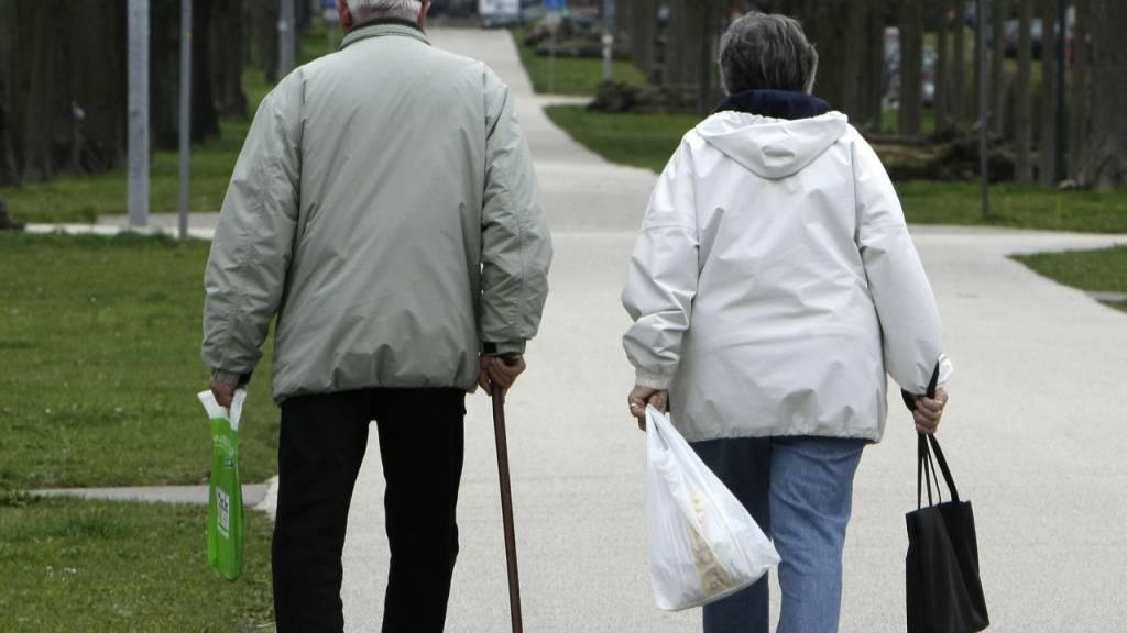 Die Leistungen der Pensionskassen von grossen Unternehmen bei einer Pensionierung sinken kontinuierlich. (Archivbild)