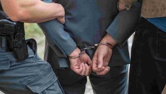Zwei Personen wurden wegen des Verdachts diverser Straftaten vorläufig festgenommen.
