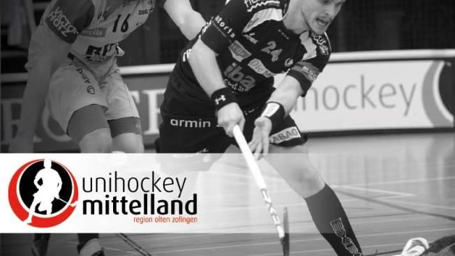 Unihockey Mittelland besiegt UHT Schüpbach nach Verlängerung.
