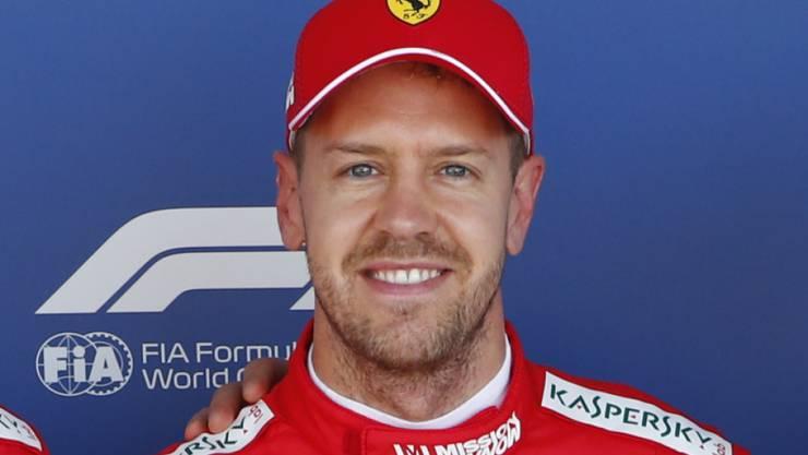 Auf der Rennstrecke lief es für Sebastian Vettel in diesem Jahr nicht immer rund, privat hat er aber gut lachen: Der Ferrari-Fahrer ist zum dritten Mal Vater geworden