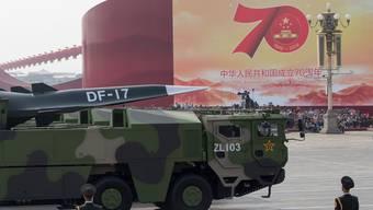 Feier zum 70-Jahr-Jubiläum der Volksrepublik China.