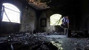 Tödliche Explosion im US-Konsulat in Benghasi (Archiv)
