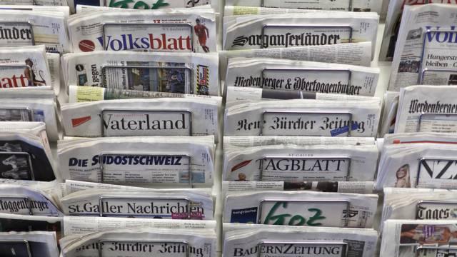 Das bewegt heute die Schweizer Zeitungen (Symbolbild)