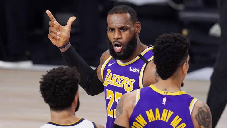 LeBron James strebt den vierten Meistertitel an, den ersten mit den Lakers.