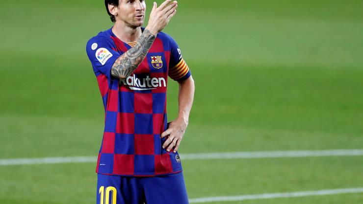Lionel Messi und Co. wissen gegen Schlusslicht Leganes vor allem beim Torjubel zu überzeugen