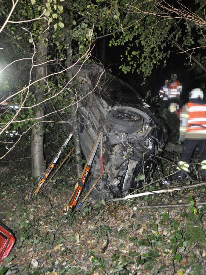 Tödlicher Autounfall Gretzenbach (© Kapo SO)