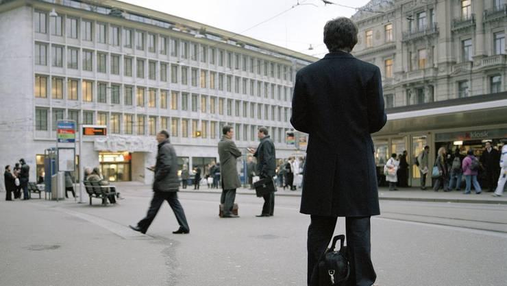 Der Schweizer Bankenplatz: Einzelne Banken würden an der Höhe der Strafsätze die Zähne ausbeissen