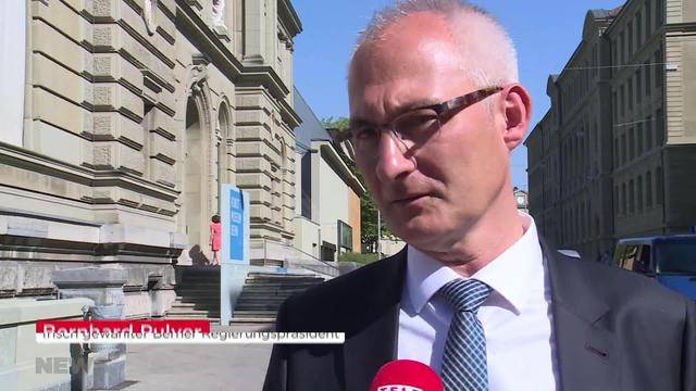 Stadt Bern gratuliert Bernhard Pulver