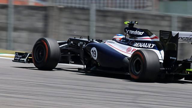 Williams ersetzt Senna durch Bottas.