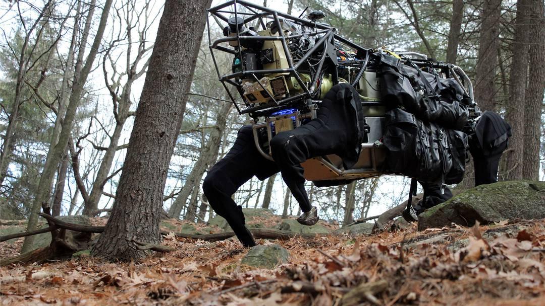 Ist dieser Roboter der Soldat der Zukunft?
