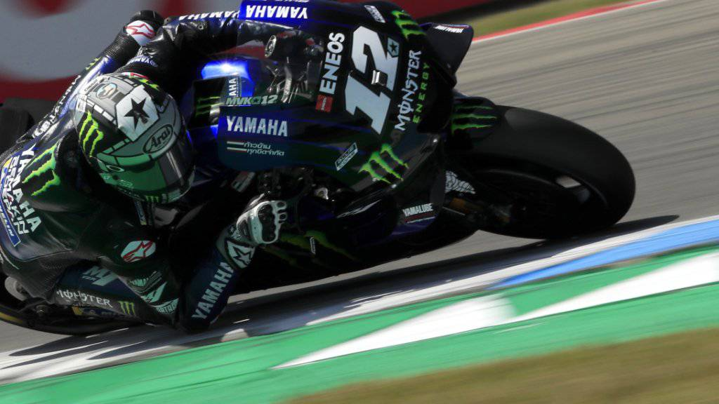 Erstmals in dieser Saison zuoberst: Maverick Viñales und Yamaha