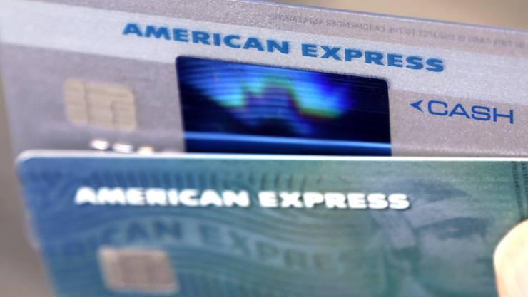 1,2 Milliarden Dollar Verlust in den letzten drei Monaten des Jahres 2017: Dem Kreditkarten-Riesen Amercian Express macht eine Sonderbelastung wegen der US-Steuerreform zu schaffen. (Symbolbild)