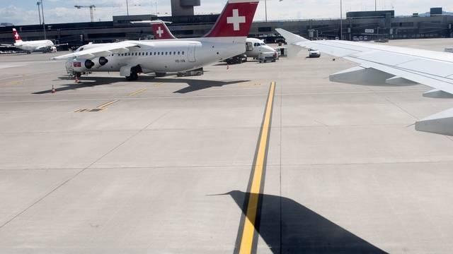 Hier fühlen sich Reisende besonders wohl: Flughafen Zürich (Symbolbild)