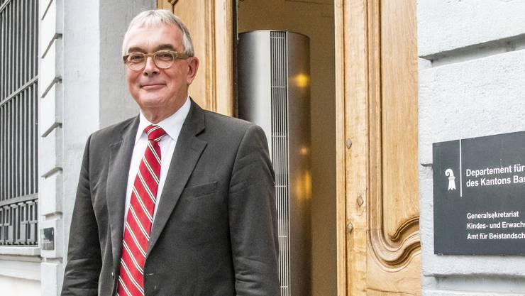 Christoph Brutschin (SP) räumt seinen Sitz in der Basler Regierung.
