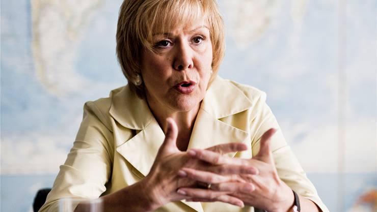 Monika Ribar, Präsidentin des Verwaltungsrats der SBB, liebäugelt mit dynamischen Billetpreisen.