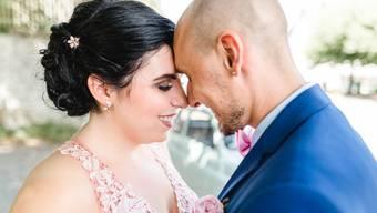 Dieses Aargauer Paar hat am 8.8.18 zivil geheiratet – und heiratet am 18.8.18 kirchlich
