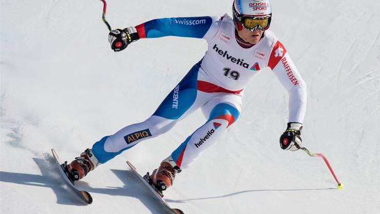 Überflieger: Loïc Meillard gilt als eines der grössten Talente im Schweizer Skisport.