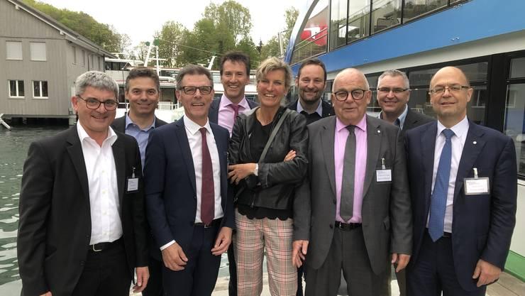 Toni Mancino, André Tinner, Heinz Frei, Jörg Geissmann, Evelyne Binsack, Marco Emmenegger, Martin Sollberger, André Hoffmann, Thomas Kaiser