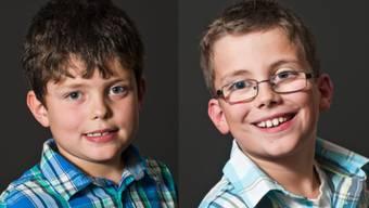 Talentierte Brüder: Elias und David Scheidegger aus Gipf-Oberfrick