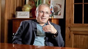 Einer der grössten Kritiker Wladimir Putins: Ex-Oligarch Michail Chodorkowski.