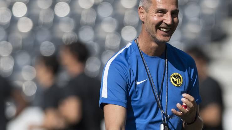 Adi Hütter empfängt heute mit YB den wohl stärksten Gruppengegner in der Europa League
