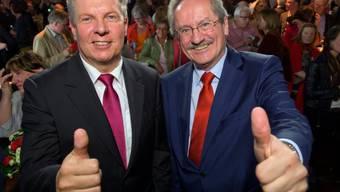 Christian Ude (rechts) und sein Nachfolger Dieter Reiter