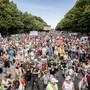 Rund 20'000 Menschen demonstrierten Anfang August in Berlin gegen die Coronamassnahmen der Regierung – mehrheitlich ohne Maske.