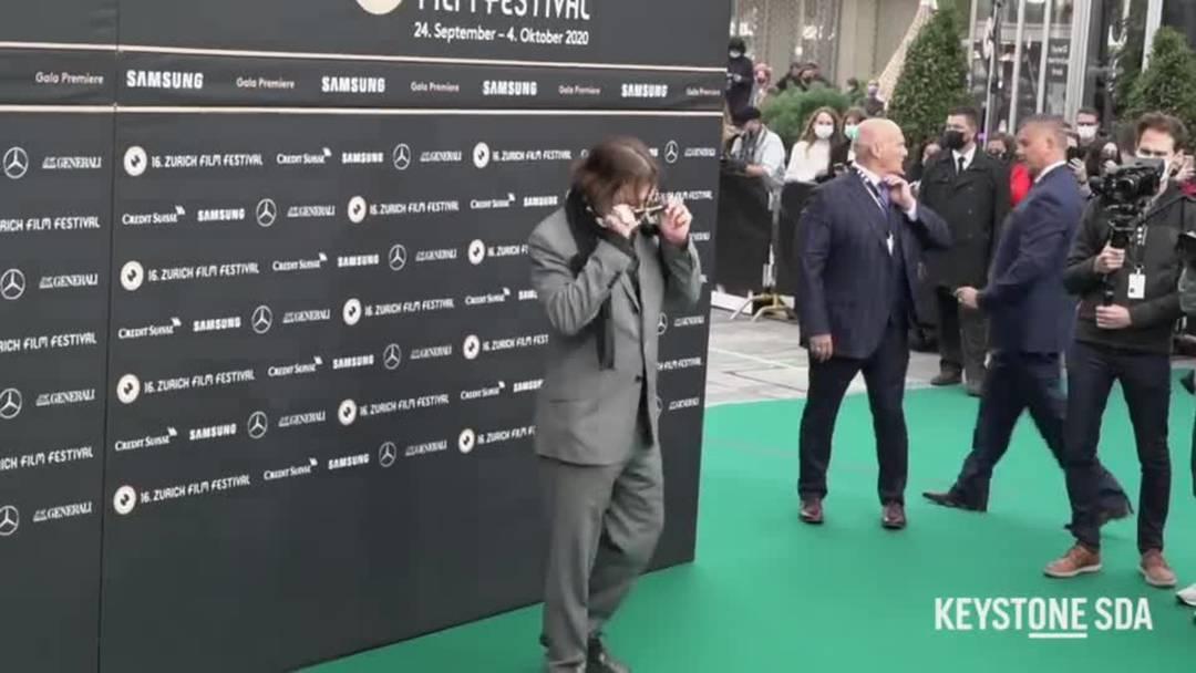 Johnny Depp auf dem Green Carpet vom ZFF