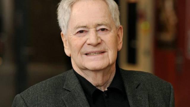 Der ungarische Regisseur István Szabó bei der Preisverleihung