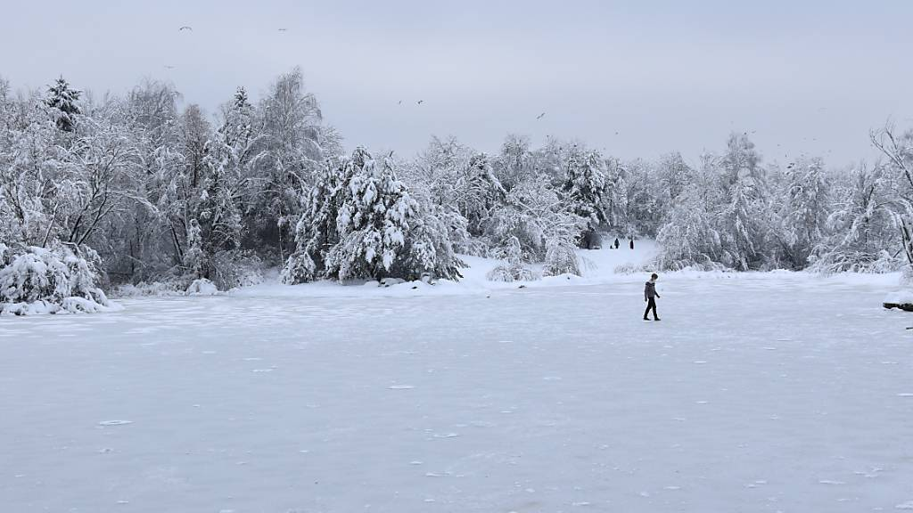 Schneefall hat zu erhöhten Radioaktivitäts-Messwerten geführt