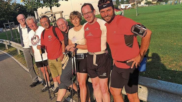 Rotary Club Gösgen-Niederamt: Sie liefen knapp 83 km und holten damit rund 5'000 Franken.