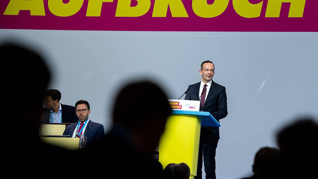 Wissing mit knapp 83 Prozent neuer FDP-Generalsekretär
