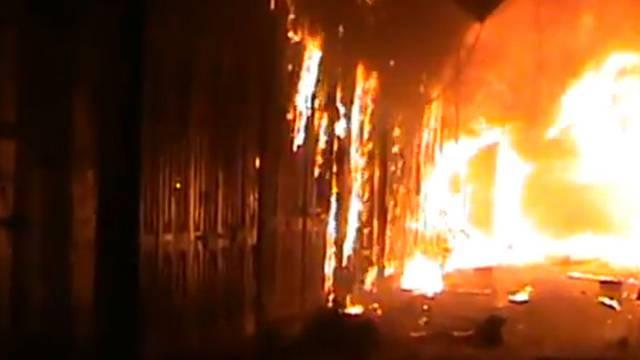 In Zürich-Wipkingen brannte ein Gewerbehaus (Symbolbild)