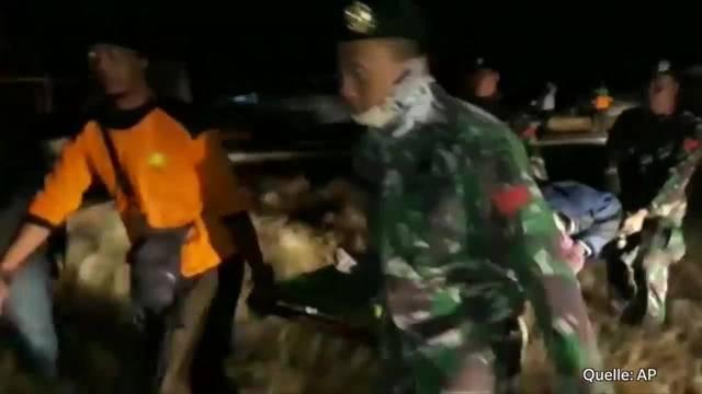 Über 140 Tote bei Erdbeben in Indonesien