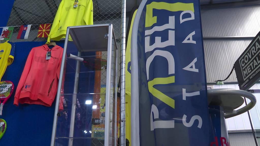 Tennis und Squash: Erste Padelhalle in der Ostschweiz